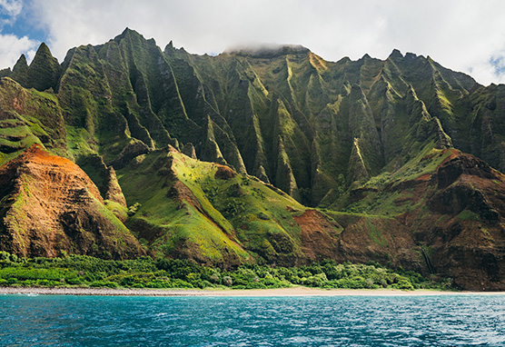 © Hawaii Tourism Authority Vincent Lim Napali Coast  Kauai Reiseagentur myinspi