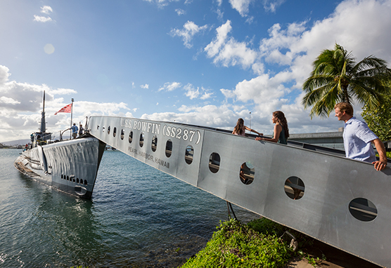 © Hawaii Tourism Authority Tor Johnson Pearl Harbor Oahu USS Bowfin Reiseagentur myinspi