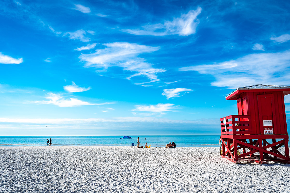 © Visit Florida Siesta Key Florida Lifeguard Hut